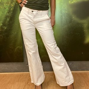 🤩 Diesel Off White Flairleg Jeans Size 26 L34 💯